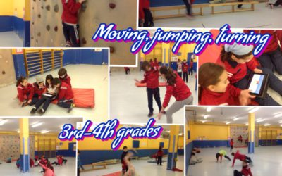 Moving, jumping turning (3 & 4)