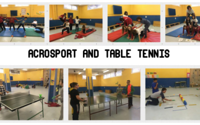 Table tennis and acrosport